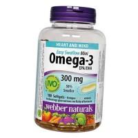 Webber Naturals Omega 3 Mini 300mg (180 softgels)