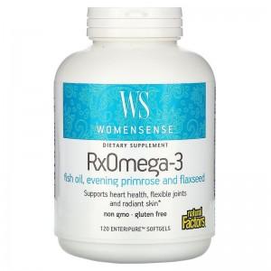 Woman Sense Rx Omega-3 120 tab