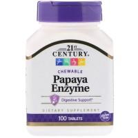 21 century Papaya Enzyme 100 tablets