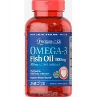 Puritans Pride Omega-3 Fish Oil 1000mg