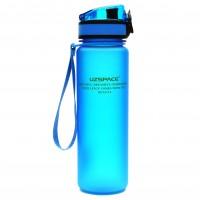 UZspace Бутылка для воды 3026 500 мл (голубая)
