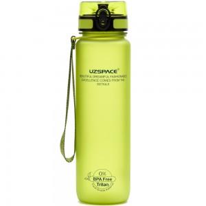 UZspace Бутылка для воды 3026 500 мл (салатовая)
