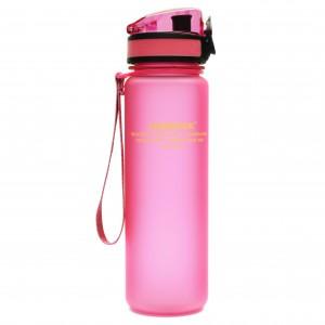 UZspace Бутылка для воды 3026 500 мл (розовая)
