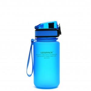 UZspace Бутылка для воды 3034 350 мл (голубая)