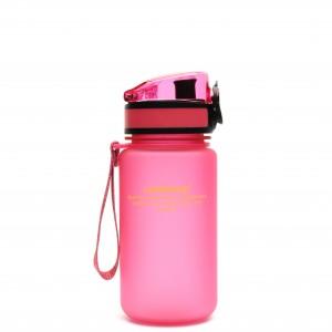 UZspace Бутылка для воды 3034 350 мл (розовая)