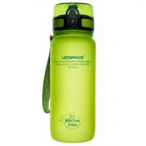 UZspace Бутылка для воды 3037 650 мл (салатовая)