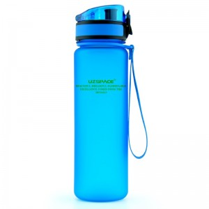 UZspace Бутылка для воды 3038 1000 мл (голубая)