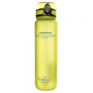 UZspace Бутылка для воды 3038 1000 мл (салатовая)