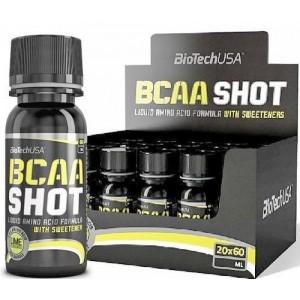 Biotech Usa Bcaa shot 60 ml lime