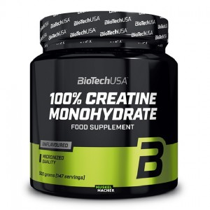 Biotech Usa 100% creatine monohydrate 500 грамм (порций 100)