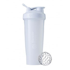 Шейкер BlenderBottle Classic Loop с шариком 940 мл White