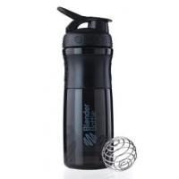 Шейкер SportMixer с шариком 820 ml Black