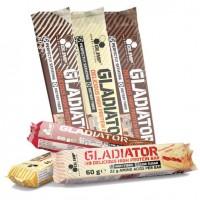 Olimp Gladiator протеиновый батончик 60 грамм Low Sugar