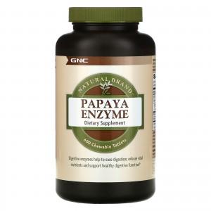 GNC Papaya Enzyme 600 tablets