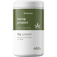 Sporter Hemp protein Конопляный протеин 450 г шоколад