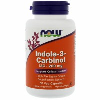 NOW Indole 3 carbinol 200 mg 60 caps