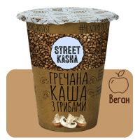 STREET KASHA Гречана з Грибами 50г стакан