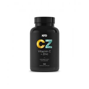 KFD Vitamin C plus Zinc 120 caps