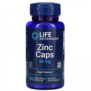 Life Extension Zinc 50 mg 90 veg caps