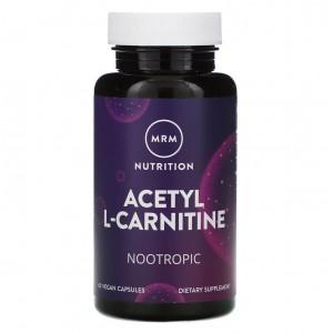 MRM Vegan Acetyl L-carnitine 60 capsules
