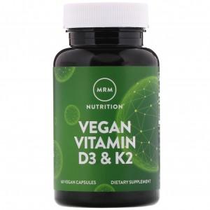 MRM Vegan Vitamin D3 K2 60 caps