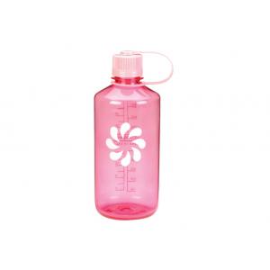Nalgene бутылка для воды narrow mouth 1 литр розовый