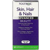 Natrol Hair Skin Nails advansed 60 caps