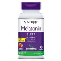 Natrol Melatonin 5 mg strawberry 90 tablets