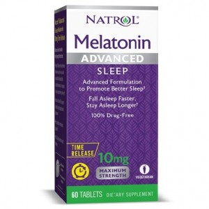 Natrol Melatonin Advanced Sleep 10 mg 60 tablets