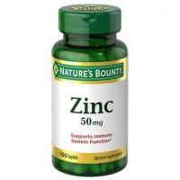 Natures Bounty Zinc Gluconate 50 mg 100 caplets
