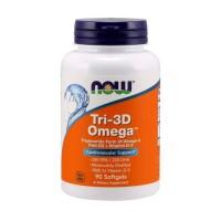 NOW Omega 3 Tri-3D 90 softgels