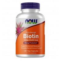 Now Foods Biotin 10000 mcg 120 capsules