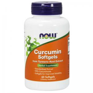NOW Curcumin Softgels 60 softgels
