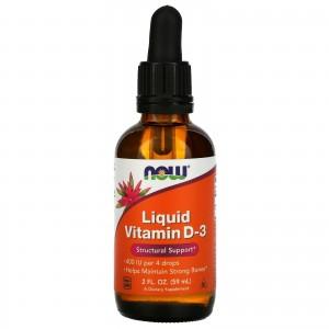NOW Vitamin D3 59 ml Liquid
