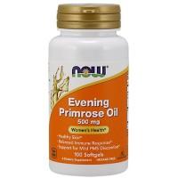 NOW Evening Primrose Oil 500mg (100 softgels)