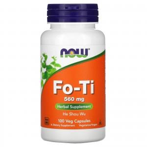 NOW Fo-Ti He Shou Wu горец многоцветковый 560 мг 100 капс