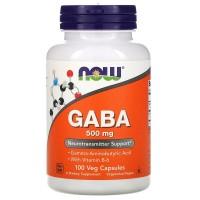 NOW GABA 500 mg 100 capsules