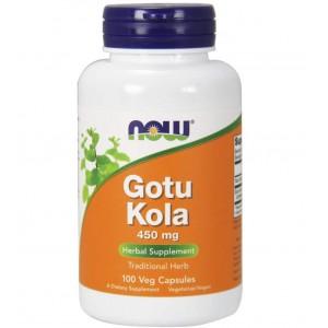 NOW Gotu Kola 450 mg 100 capsules
