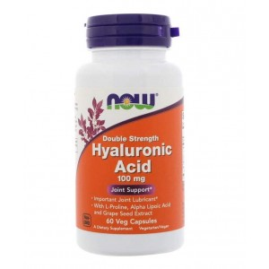 Now Foods Hyaluronic Acid 100 mg (60 капсул)