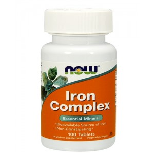 NOW - Iron Complex (100 tabs)