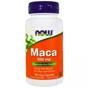 Now maca 500 mg 100 капсул