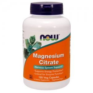 Now Foods Magnesium Citrate 120 capsules
