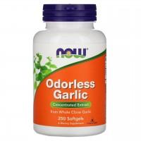 NOW Garlic Odorless 100 softgels