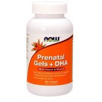 Now Prenantal Gels and DHA(omega) 90 softgels