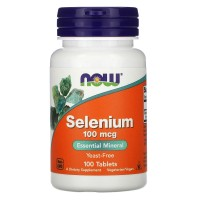 NOW Selenium 100mcg 100 tablets