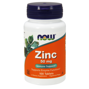 Now Foods Zinc 50 mg 100 таблеток