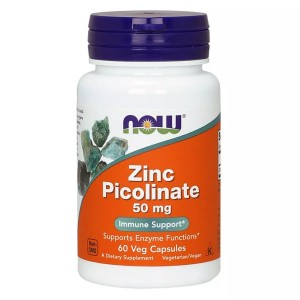 NOW Zinc Picolinate 50 mg 60 caps