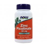 NOW Zinc Picolinate 50 mg 120 caps