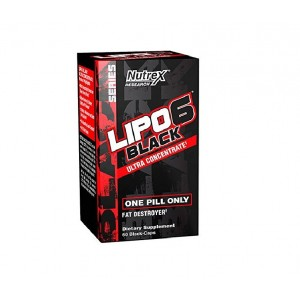 Nutrex Lipo 6 Black Ultra Conc one pill a day 60 capsules