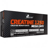 Olimp creatine 1250mg 120 mega caps (60 порций)